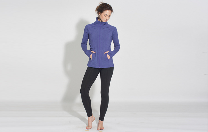 738592ca11 Earth Yoga creates fashionable yoga clothing that is made with eco-friendly  and durable fabrics and materials. Made from spandex and recycled polyester  ...