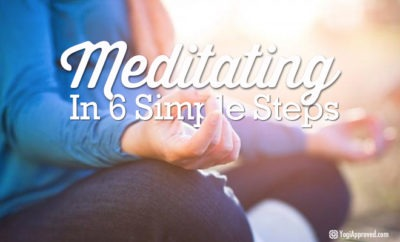 6 steps to meditation