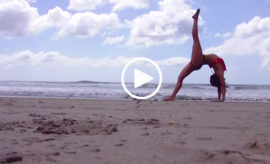 Meghan Currie Beach video