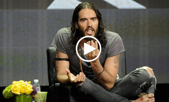 Russell Brand Has Something Important to Say. We're All Ears! (video)
