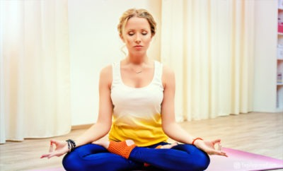 yoga poses and advice for period relief