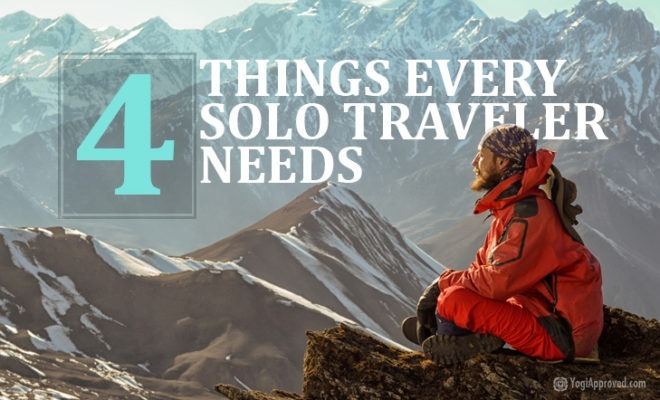 4 things for every solo traveler