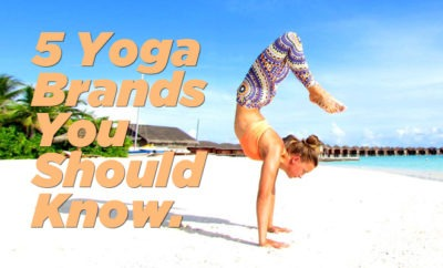 5 Yoga Brands You Should Know