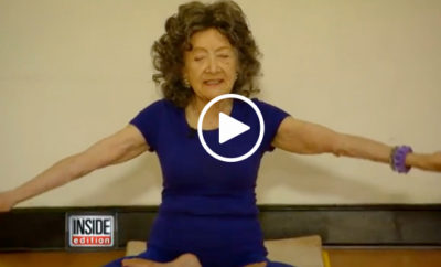 96 year old yoga instructor