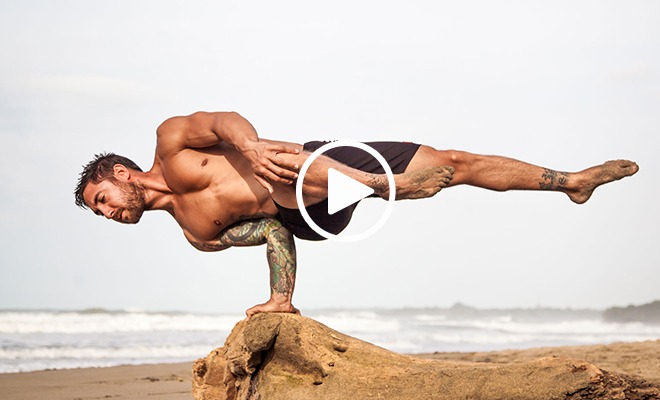 Strength and Balance Unlike Anything We've Seen (Video)