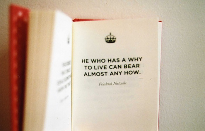 He who has a why to live quote