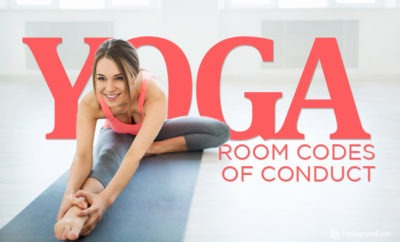 yoga room codes of conduct
