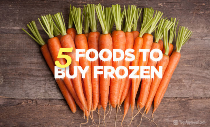 Here Are 5 Foods You Should Buy Frozen (And Why)