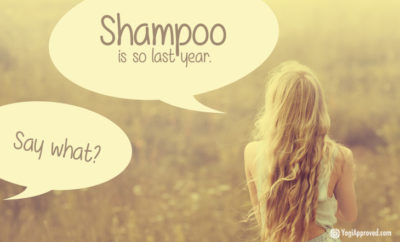 no more shampoo