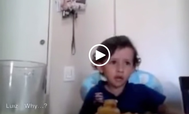 Adorable Child Tells Us Why We're All Wrong for Eating Meat (Video)
