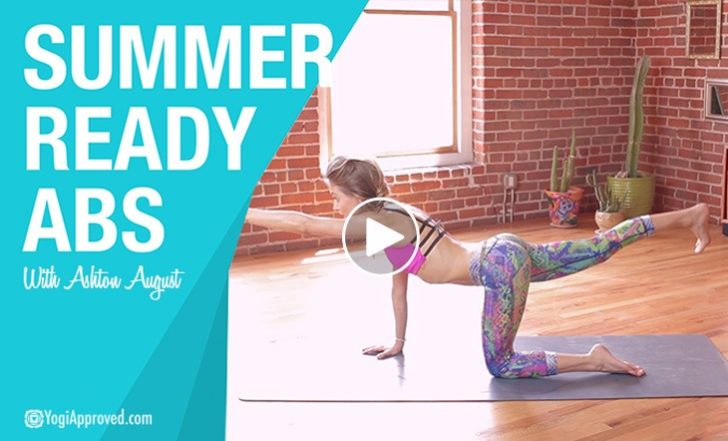 13 Minute Yoga Sequence for Summer-Ready Abs (Video)