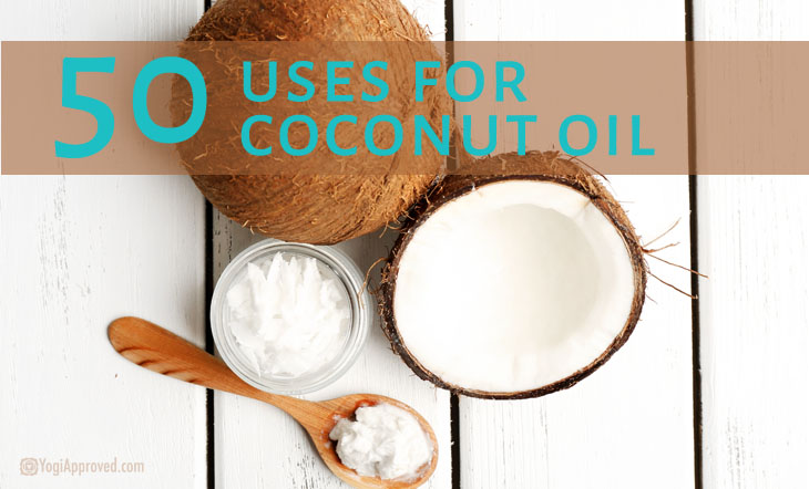 50 Life-Changing Coconut Oil Uses | YogiApproved
