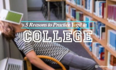 practice yoga in college