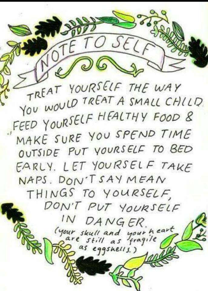 note to self manifesto