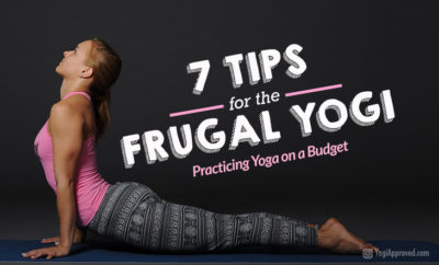 practicing yoga on a budget