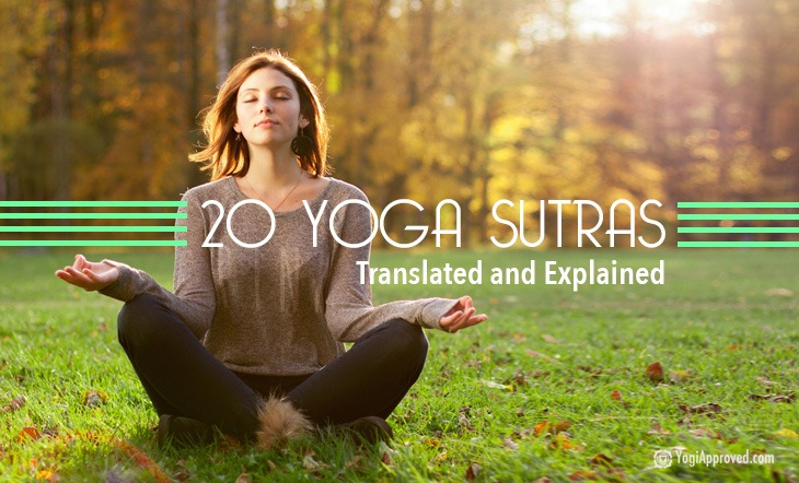20 Yoga Sutras Translated and Explained