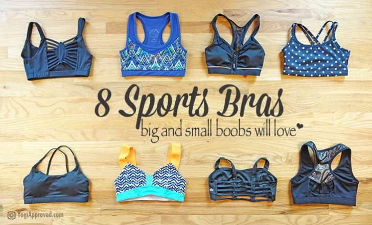 8 Supportive and Stylish Sports Bras from A Cups  to DDs