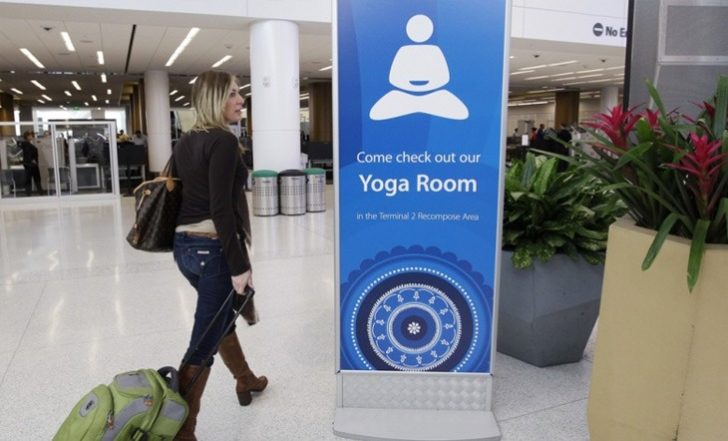 5 Airports With Yoga Rooms