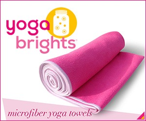 YogaBrights hot yoga towels