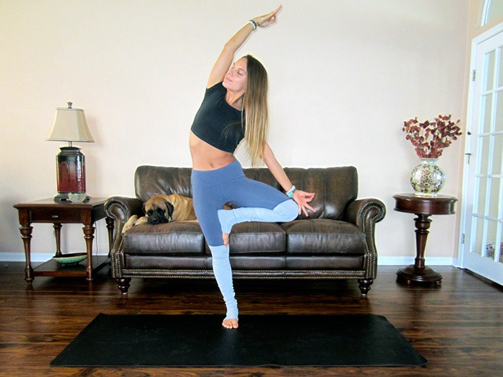 15. Balancing posture: yogi's choice Choose a posture that will manifest focus, balance, and integration – setting the tone for the day ahead. Suggestions: Tree Pose, Eagle Pose, Dancer Pose