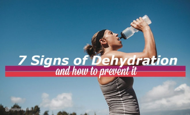 7 Signs Of Dehydration