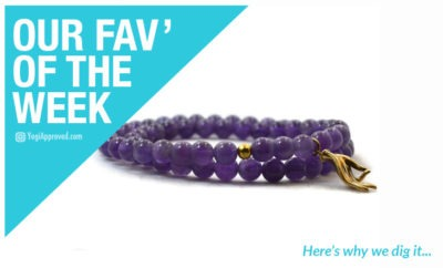Fav of the week Peace and Balance Mudra Amethyst Bracelet from Jewelry By Andrea article
