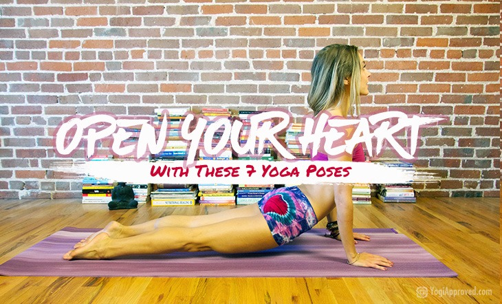 Crack Your Heart Open With These 7 Heart Opening Yoga Poses