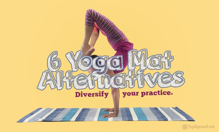 6 Yoga Mat Alternatives To Diversify Your Practice