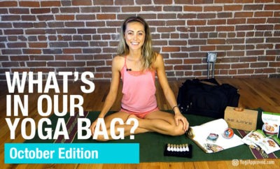 whats in our yoga bag october