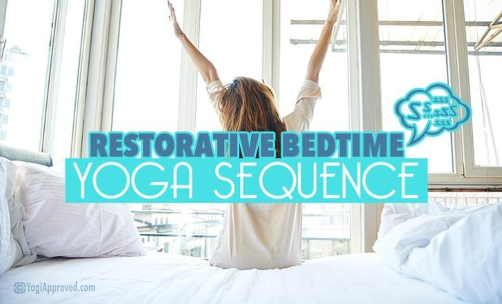 Try This Restorative Bedtime Yoga Sequence For Relaxation Tonight