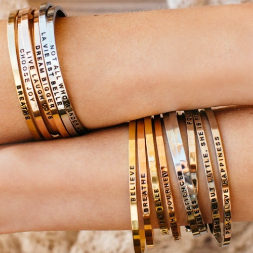 Mantraband Bracelet Combination for Him and Her ($35)
