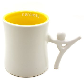 Ensemble Postures Ceramic Coffee Mug ($11)