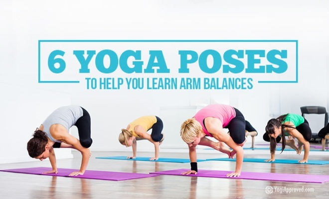 Yoga Poses For Arm Balances