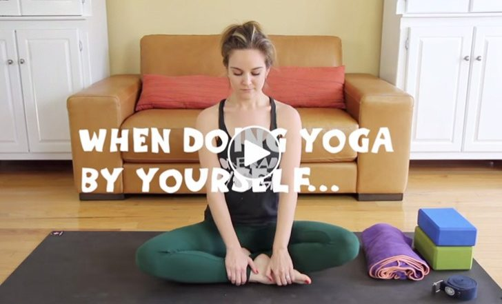 When Doing Yoga by Yourself… (Funny Video)