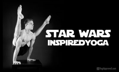 star wars inspired yoga