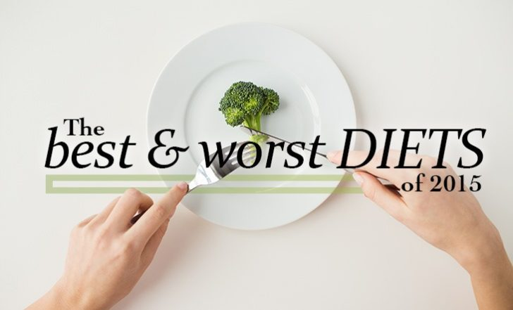 The Best and Worst Diets of 2015