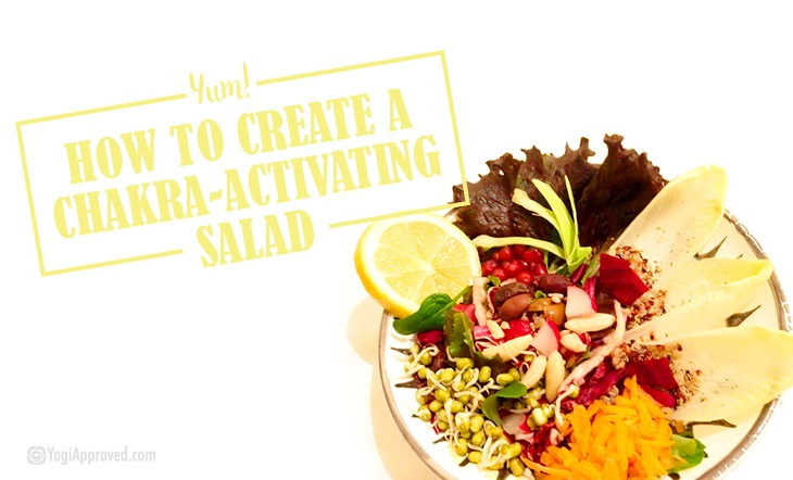 7 Ingredients to Create a Chakra-Activating Salad
