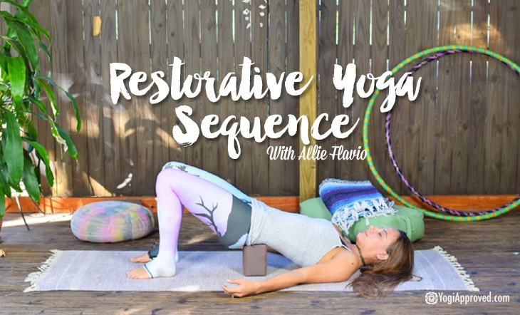 Reconnect And Refuel With This Restorative Yoga Sequence