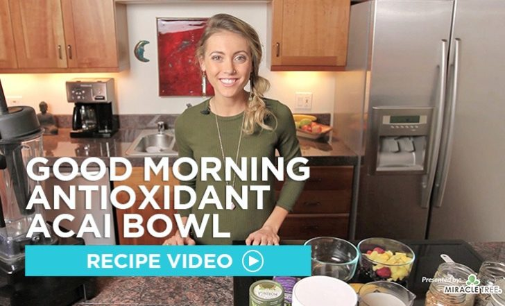 Good Morning Antioxidant Acai Bowl Recipe (Video)
