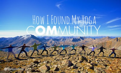 how i found my yoga community