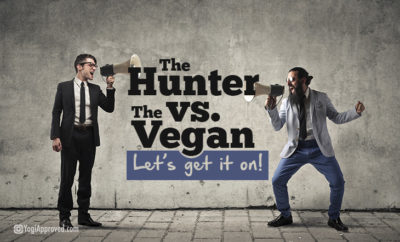 hunter vs vegan
