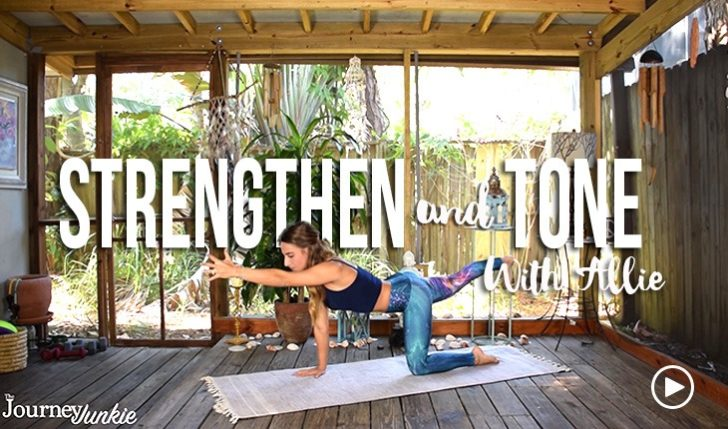 10 Yoga Poses to Strengthen and Tone (Yoga Video)