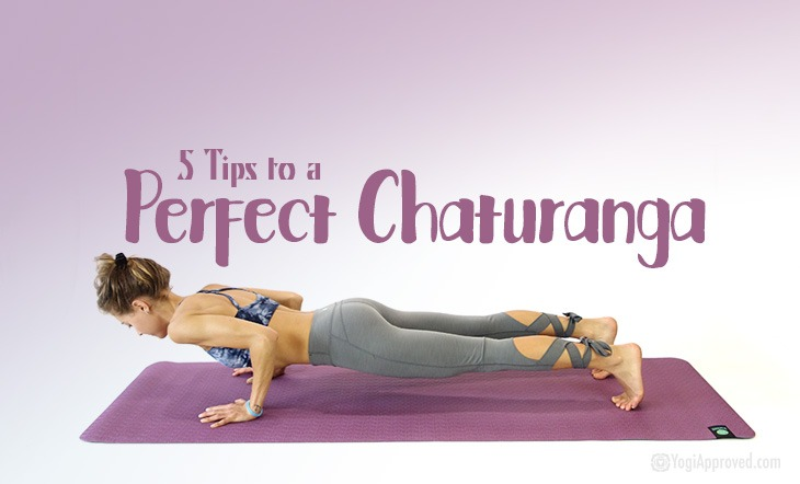 How to Do Chaturanga Correctly