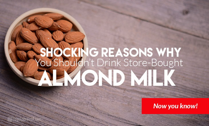 Shocking Reasons You Shouldn't Drink Store-Bought Almond Milk