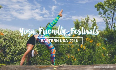 yoga friendly festivals