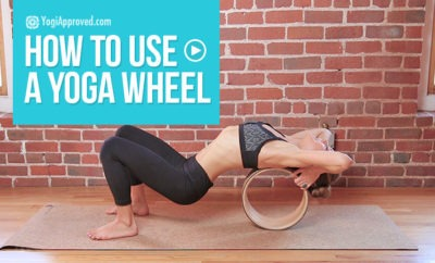 yoga wheel tutorial