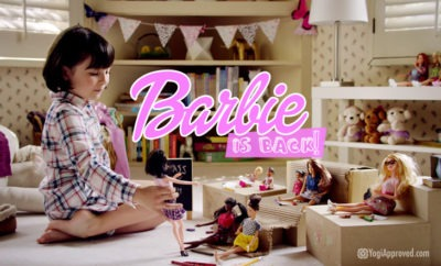 barbie is back