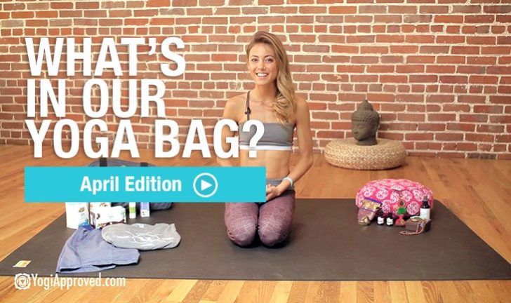 What's in Our Yoga Bag this April