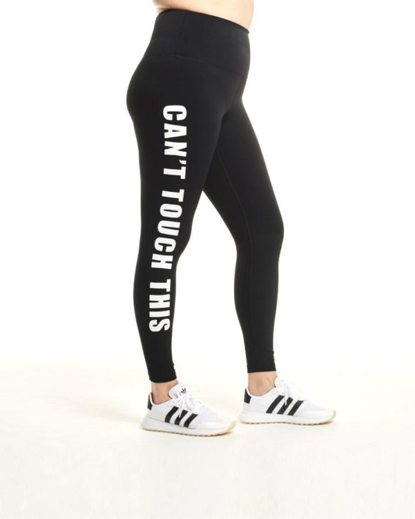 Cant touch this day won legging | yogiapproved.com