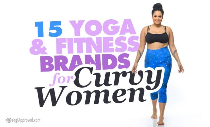 15 Yoga and Fitness Brands for Curvy Women